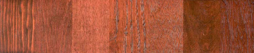 Pine Birch Maple Red Oak Mahogany Cherry Walnut