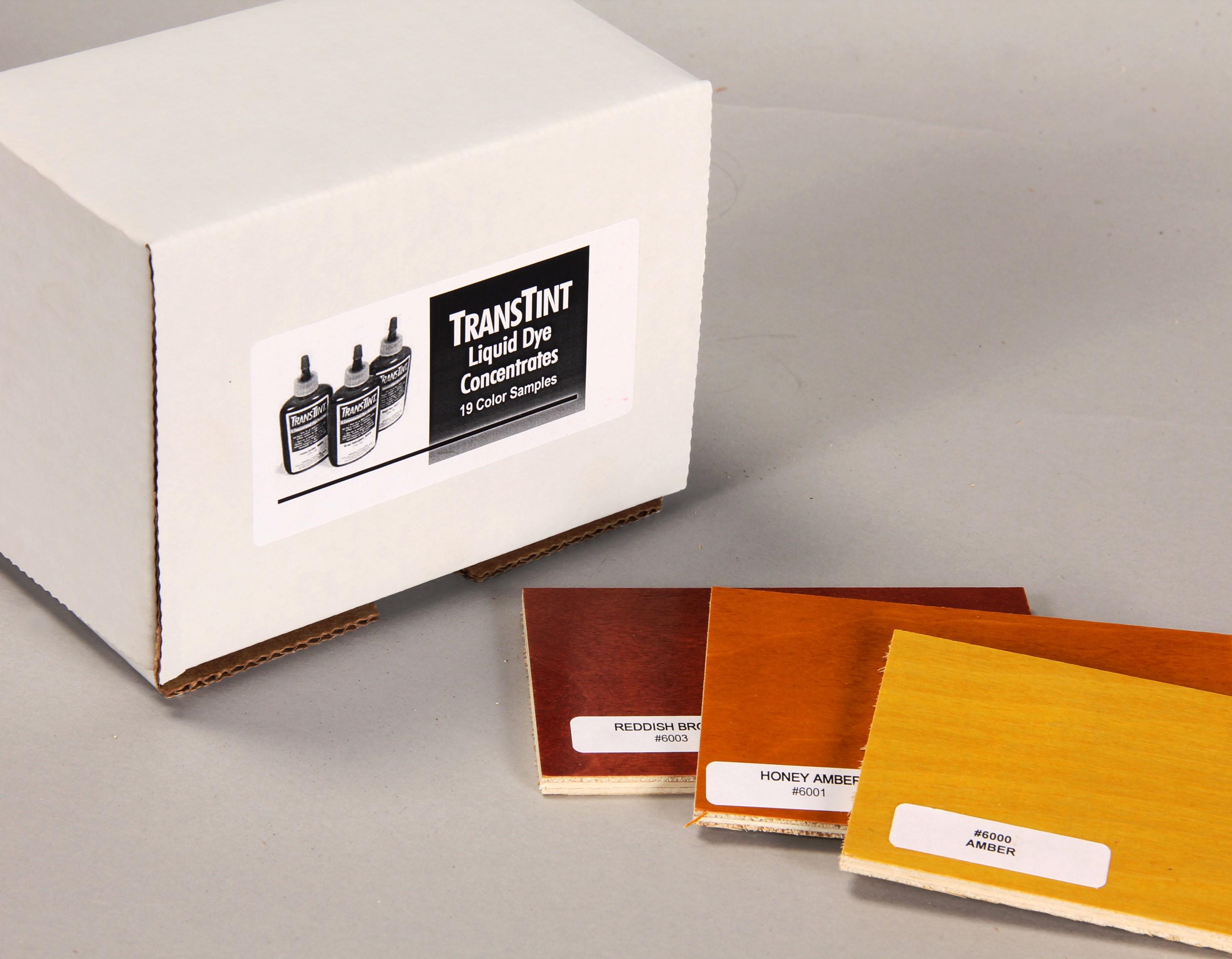 Transtint liquid dyes homestead finishing products